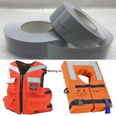 Nastro adesivo Solas tape marino retroroflettente per prodotti di salvataggio omologato