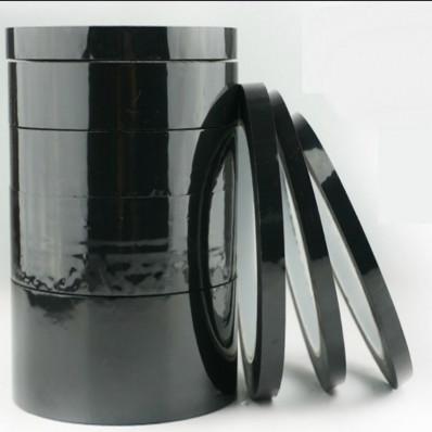 силиконовый клей черного полиэстера Клейкая лента для высоких