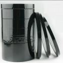 Cinta adhesiva negra en silicona de enmascaramiento para pintura - 66mt (55my)
