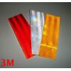 6 pegatinas rectangulares reflectantes realizadas con material 3M™ Diamond Grade