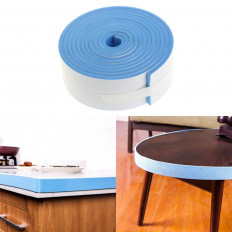 Striscia paracolpi per bambini in gomma protezione da tavoli e mobili sporgenti