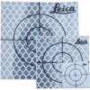 Target riflettenti rifrangenti adesivi 20/30/40/50mm con croce di mira 20 pezzi