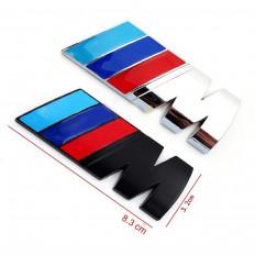 coche de 4 piezas de la etiqueta engomada de la manija para BMW m3 m5 x 1 x 3 x 5 x 6 e36 e39 e46 e30 e60 e92 f30