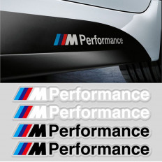 "WRIST STEAM LOGO ADHESIVE 3M - BMW ""M"" BLACK SILVER OPTIMAL EFFECT / SILVER METALLIZED"