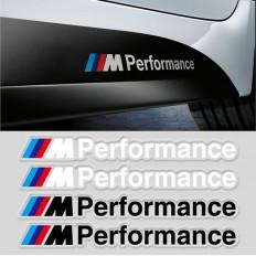 """SCHRIFTLICHE EMBLEM LOGO KLEBER 3M - BMW """"M"""" EFFECT MATT SCHWARZ SATIN / SILBER Metallized"""