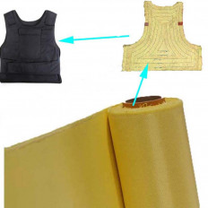Kevlar fiber aramid fabric - 240 g / m² plain 110cm x 100cm