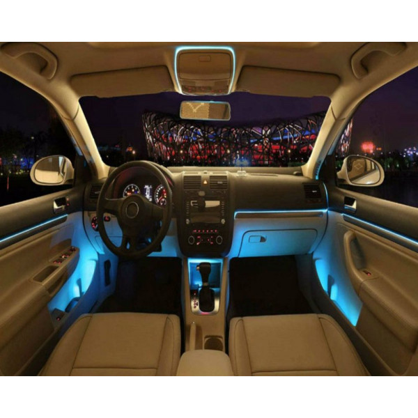 bande lumineuse en led pour d corations de l 39 int rieur de la voiture vente. Black Bedroom Furniture Sets. Home Design Ideas