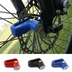 Bike Bicycle Motorcycle Safety Anti-theft Disk Disc Brake Wheel Lock