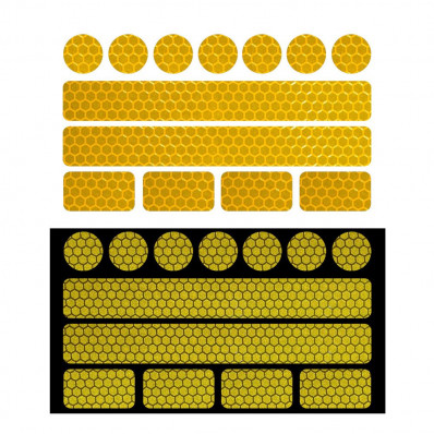 Flechas adhesivas materiales reflectantes Scotchlite 3M™ serie 580