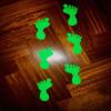8 piecitos adhesivos fluorescentes para piso en 2 colores venta