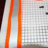 Отражающая лента преломляющей швейное сочетания Флуоресцентного