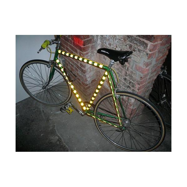 Chevron adesivi rifrangenti riflettenti scotchlite 3M serie 580 5 colori bike
