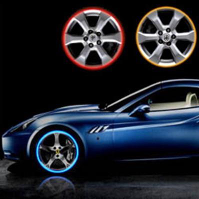 Círculos de auto tiras adhesivas reflectante 3 m ™ banda reflectante marca para rueda