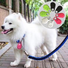 Яркие Мигающие светодиодные ошейник для кошки или собаки с быстродействующей