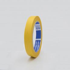 Cinta adhesiva de enmascaramiento carroceria amarilla en papel