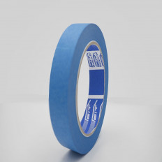 Nastro mascheratura blu in carta uso esterno resistente U.V. 105µm