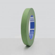 Nastro mascheratura verde in carta uso esterno resistente U.V. 145µm
