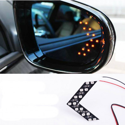 14 SMD LED indicator arrow lights for rear-view mirrors - 2
