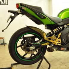 Bandes adhésives fluorescentes de la marque 3M™ pour moto -