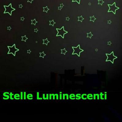 Sterne klebend verschiedenen Dimensionen lumineszente im