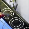 Folie transparent Klebeband zum Lichtschutz von Fahrrädern und