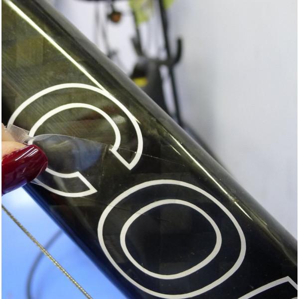 folie transparent klebeband zum lichtschutz von fahrr dern. Black Bedroom Furniture Sets. Home Design Ideas
