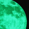 Glow in the dark luminous and phosphorescent moon - 30 cm