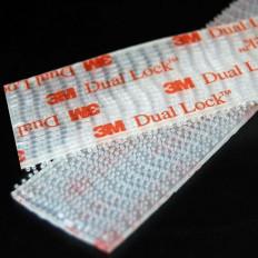 Velcro adesivo 3M™ trasparente rettangoli 25 mm x 5 cm Dual