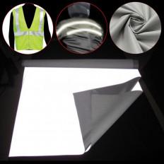 Hoja reflectante plateada de coser homologada EN471 - 110cm