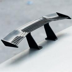 Mini universal fibra de carbono spoiler de carro / motocicleta