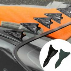 10 ensembles de perfusion de spoiler, toit aileron de requin