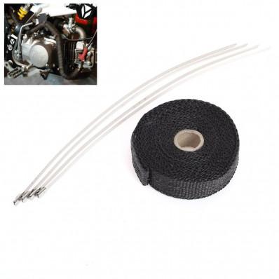 Nastro termico per collettore scarico auto/moto universale 25mm x 5M