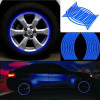Faixas adesivas refratoras da marca 3M™ para rodas dos carros