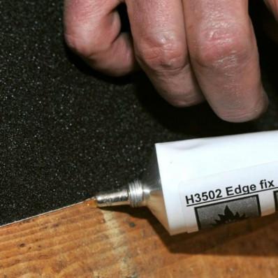Герметик края для предотвращения подъема скольжения в местах с