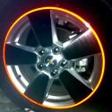 Des bandes adhésives 3M ™ voiture réfringent réfléchissant