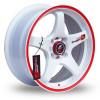 Bandes adhésives auto cercles réfléchissant 3M ™ bande réfléchissante marque pour roue