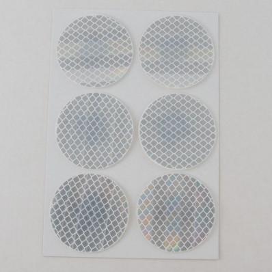 3 m Diamond GradeMC réfléchissant autocollants réfléchissants cercles 983 blanc, de rouge ou de jaune