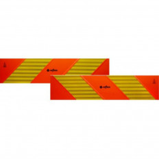 ECE 70.01 Paneles reflectantes para kit de 2 piezas en PVC de clase 3 o aluminio