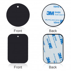 Original metal plate with 3M ™ double sided tape for mobile phone magnet support