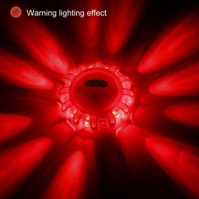 Led lampeggiante faro stradale per visibilità in caso di gusto o incidente