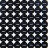 100-х самоклеющиеся этикетки этикетки уплотнения 5 мм, написанные НЕДЕЙСТВИТЕЛЬНЫМИ