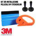 Набор для нанесения автомобильной упаковки (шпатель Blue 3M - резак - магниты)