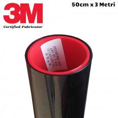 Película de oscurecimiento coche negro resistente a los arañazos de vidrio 20% material superior 75 cm x 300 cm