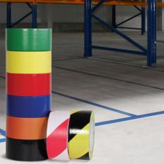 Cinta adhesiva para marcar el piso 25/50/75 mm x 33 MT venta en