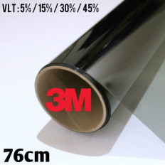 ABG одобрил пленочное затемнение Автомобильные стекла 76 см Черный оттенок серии 3M ™ BS от 5% до 45%