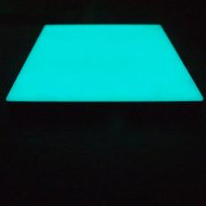 Pedras luminescentes em vidro que brilham no escuro