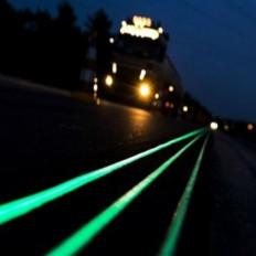 Tinta fotoluminescente à base acrílica que brilha no escuro - 30 /500ml