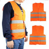 Reflective Vest Fluorescent Yellow / Red high visibility one