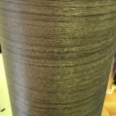 Revêtement en vinyle adhésif aluminium brossé en 3 couleurs (no bulles d'air)