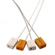 Selos de segurança com fio de aço de 1,8 mm com numeração